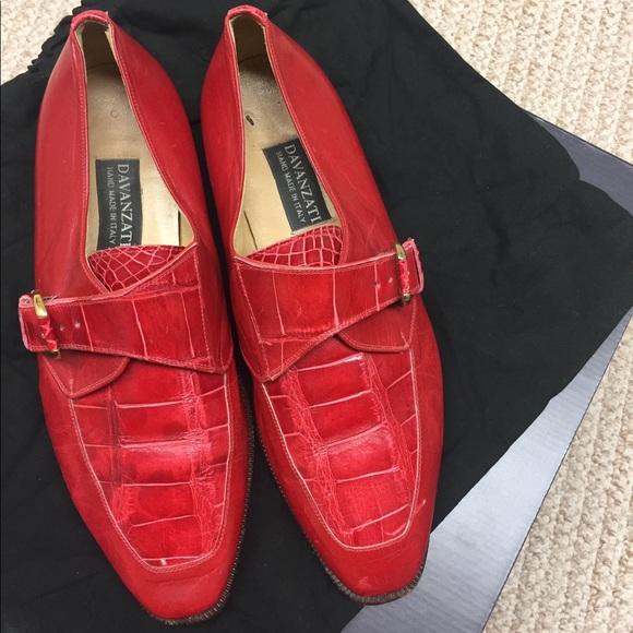 Davanzati Other - Davanzati genuine gator leather men's loafers